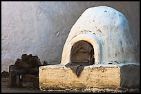Oven outside Peralta Adobe. San Jose, California, USA ( color)