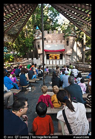 Puppet Theatre, Happy Hollow Park. San Jose, California, USA