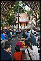 Puppet Theatre, Happy Hollow Park. San Jose, California, USA (color)