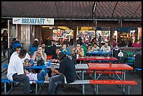 Eatery, San Jose Flee Market. San Jose, California, USA ( color)