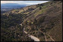 Alumn Rock valley. San Jose, California, USA ( color)