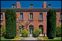 Filoli House. Woodside,  California, USA (color)