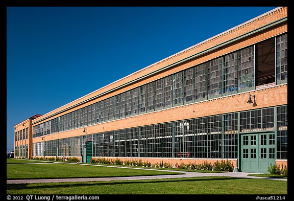 Ford Assembly Plant, Rosie the Riveter National Historical Park. Richmond, California, USA (color)