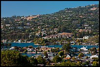 Belvedere Lagoon, Tiburon. California, USA ( color)