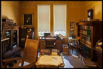 Office of John Muir, John Muir National Historic Site. Martinez, California, USA ( color)