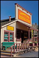 Roaring Camp general store, Felton. California, USA ( color)