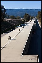 Two-mile long linear accelerator. Stanford University, California, USA ( color)