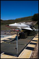 Nike missile firing battery. California, USA (color)