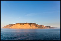 Santa Catalina Island at sunrise. California, USA ( color)