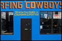Surfing Cowboys storefront. Venice, Los Angeles, California, USA ( color)