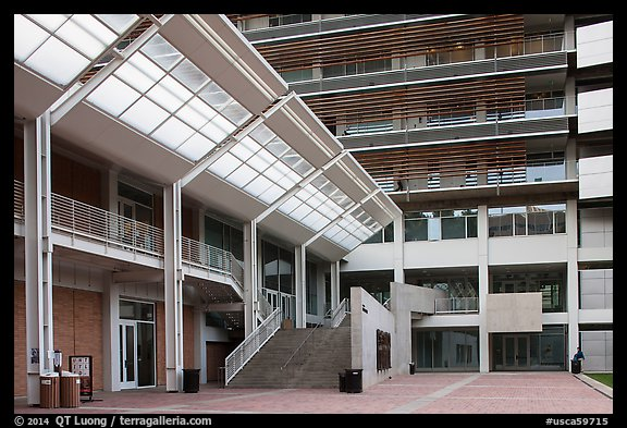 modern buildings university of california at los angeles westwood