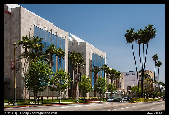 Los Angeles County Museum of Art. Los Angeles, California, USA (color)