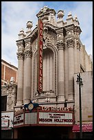 Historic Los Angeles Theater on Broadway. Los Angeles, California, USA ( color)
