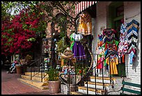 Store selling handicrafts from Mexico, El Pueblo. Los Angeles, California, USA ( color)