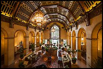 Millenium Biltmore Hotel lounge. Los Angeles, California, USA ( color)