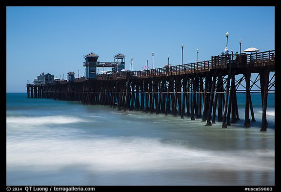 Oceanside Pier. California, USA (color)