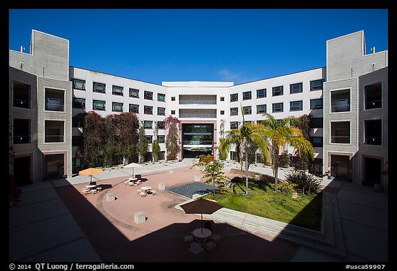 University of California at San Diego campus. La Jolla, San Diego, California, USA (color)