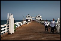 Malibu Pier. Los Angeles, California, USA ( color)
