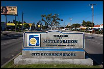 Little Saigon sign. Garden Grove, Orange County, California, USA ( color)