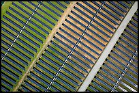 Aerial view of photovoltaic power station. San Jose, California, USA ( color)