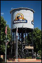 Water Tower, Tehachapi. California, USA ( color)