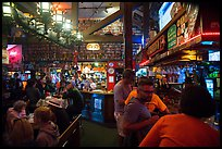 Pub interior. Half Moon Bay, California, USA ( color)