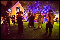 Halloween party. Petaluma, California, USA ( color)