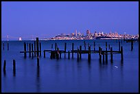 City  seen from Sausalito. San Francisco, California, USA (color)