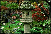 Urn, Japanese Garden, Golden Gate Park. San Francisco, California, USA ( color)