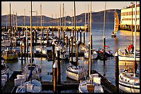 Marina at sunset. San Francisco, California, USA