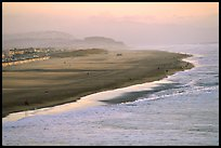 Ocean Beach at sunset. San Francisco, California, USA ( color)