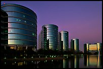 Oracle corporate headquarters. Redwood City,  California, USA ( color)