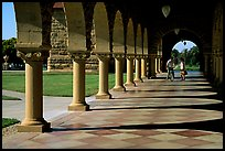 Mauresque style gallery, Main Quad. Stanford University, California, USA