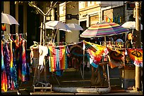 Colorful Tye die T-shirts for sale on Telegraph Avenue. Berkeley, California, USA ( color)