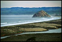 Morro Rock. Morro Bay, USA