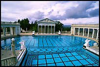 Neptune Pool at Hearst Castle. California, USA