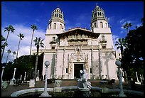 Hearst Castle. California, USA ( color)
