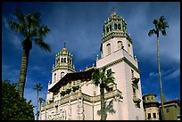 Hearst Castle. California, USA (color)