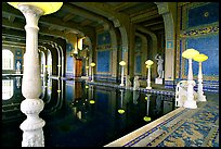 Roman  Pool at Hearst Castle. California, USA (color)