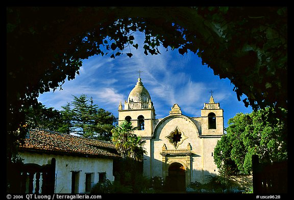 Mission San Carlos Borromeo Del Rio Carmelo. Carmel-by-the-Sea, California, USA