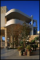 Getty Museum, designed by Richard Meier. Brentwood, Los Angeles, California, USA ( color)