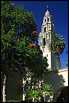 Museum of Man, Balboa Park. San Diego, California, USA (color)