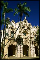Casa Del Prado, afternoon, Balboa Park. San Diego, California, USA ( color)