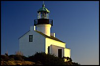 Old Point Loma Lighthouse, late afternoon. San Diego, California, USA ( color)