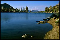 Frog Lake. Mokelumne Wilderness, Eldorado National Forest, California, USA (color)