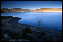Topaz Lake, late afternoon. California, USA ( color)