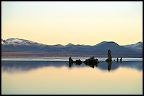 Isolated Tufa towers. Mono Lake, California, USA