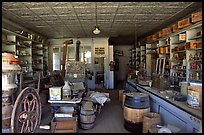 Interior of general store, Ghost Town, Bodie State Park. California, USA ( color)