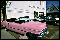 Classic Pink Cadillac, Bishop. California, USA (color)