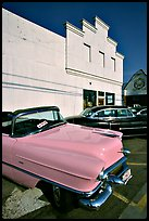 Classic Pink Cadillac, Bishop. California, USA